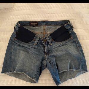 JCrew Maternity Denim Shorts size 27